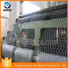 Alibaba China low price retaining wall pvc coated heavy hexagonal wire mesh