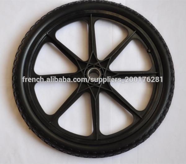 Roue de mousse pu en plastique pour le jardin panier pneu - Bloc de mousse pour coussin ...