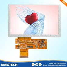 5 inch 800*480 auto meter lcd