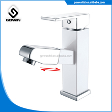 Luxury Brass Wash Basin Mixer,Hot Cold Water Automatic Faucet,Chrome Finishing And Deck Mounted