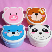 Cute Japanese Animal Cartoon insulated lunch box food warmer lunch box kids food warmer lunch box