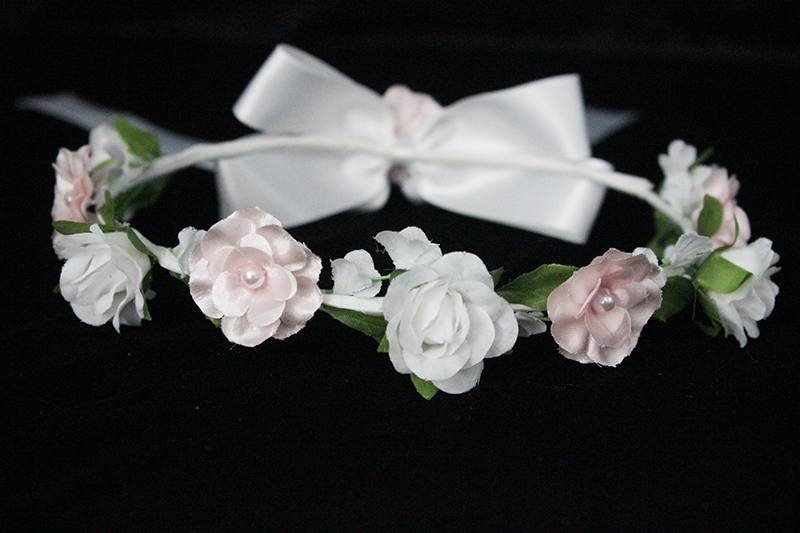 F1285 Wedding  Flower Crowns Women Bridal Floral Head Wreath Bridesmaid Party Tiaras Headpiece Female Flower