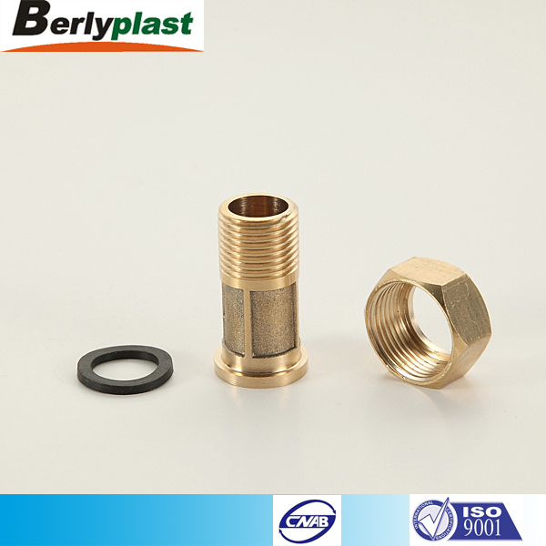 Many types of reducing coupler brass pipe fitting size