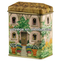 New Decorative Metal Tin box Music Box