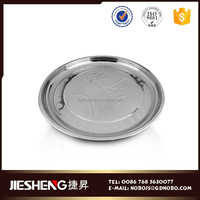 different size round multi function stainless steel dinner plate sets