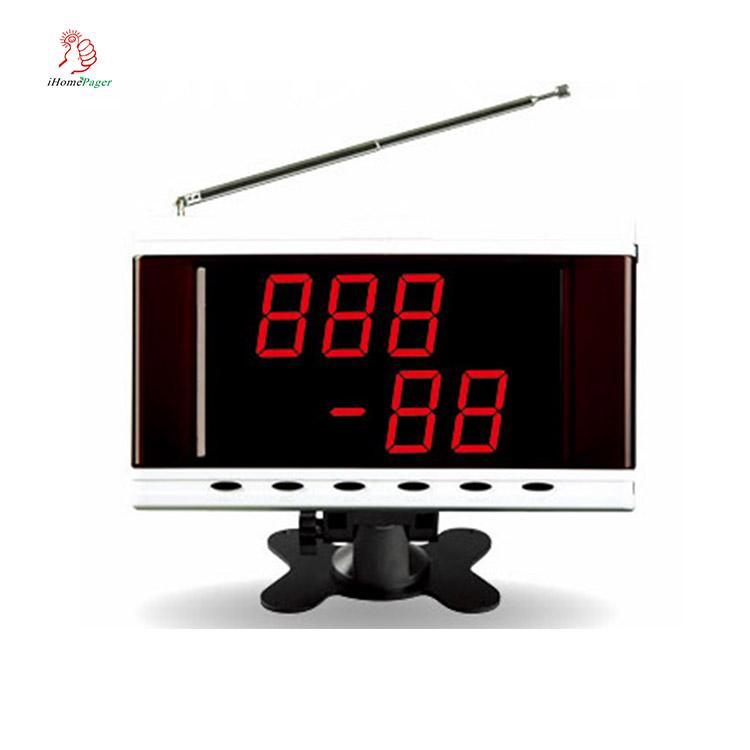 433.92 mhz RF signal récepteur LED numéro d'appel moniteur pour hôpital ou restaurant - ANKUX Tech Co., Ltd