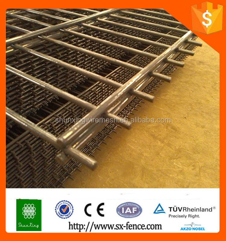 China supplier double wire mesh panels