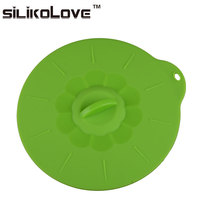 100% Factory Directly Food Grade Fda Approved Reusable Non Toxic Silicone Pot Lid