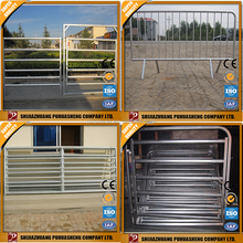 China goods wholesale galvanized flat panel fence gates