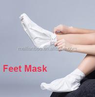 peel off mask cream exfoliate foot care mask