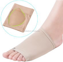 Gel Plantar Arch Support Sleeve Arch Socks Heel Cushion Foot Pads Patch Feet Care Pads Patch Socks HA00574