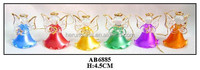 (AB6885)lovely glass angel for christmas decorations