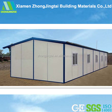 ZJT prefabricated luxury steel frame house/sandwich panel sip container house/ cheap