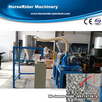 Waste plastic film squeezing machine/plastic squeezing dryer