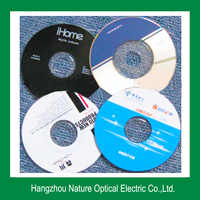 China Nature Mini CD/DVD Replication with Packaging Service