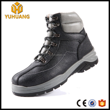 New style Ankle Leather Men safety Boots Male Fashion Breathable hiking safety Shoes