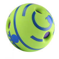 No Harm Wobble Wag Giggle Rolling Ball Dog Training Pet Toys with Funny Sound