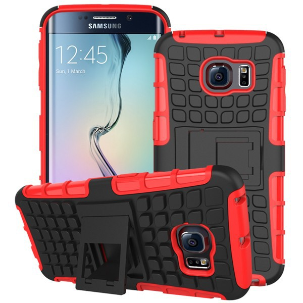 Hot Selling TPU PC Hybrid Shockproof Heavy Duty Case Cover For Samsung Galaxy Edge S6