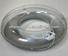 Best selling in summer transparent inflatable life ring for swimming, inflatable ring