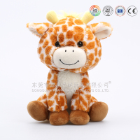 Dongguan plush toys factory making giant giraffe stuffed animal