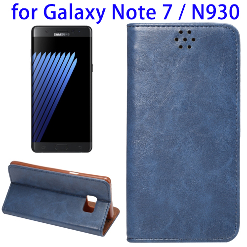 2016 Newest Magnetic Leather Phone Case for Samsung Galaxy Note 7 Case
