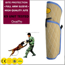 Dog Training Bite Sleeve Arm Protection for both right and left hand dog training k9 harness