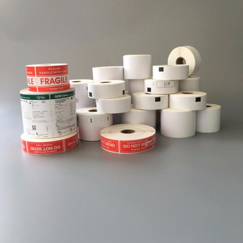 Multipurpse 4x6 Thermal Printing Media Label fanfold or in roll