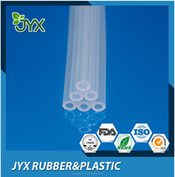 Transparent food grade medical silicone tube