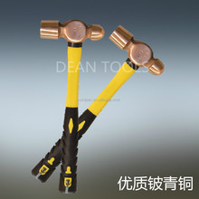 Non Sparking & Explosion Proof Beryllium Bronze Non Magnetic Ball -Peen Hammer or Brass