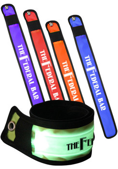 Safety LED Slap Light-Up Bracelets