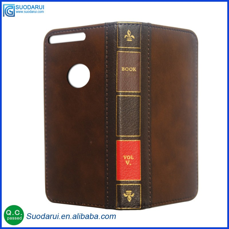 Luxury Twelve Bible book Wallet Flip Leather Cell Phone Case for Google Marlin nexus 5.5 busiess pouch