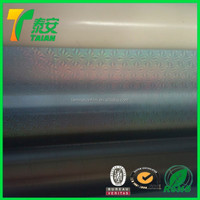 Transparent Self Adhesive Holographic Film / Hologram Thermal Lamination Film