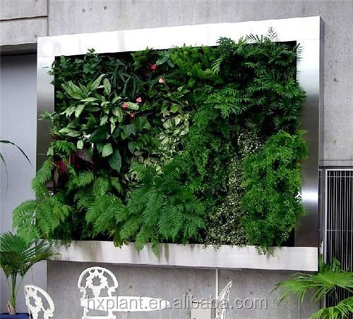 Pas cher art mur v g tal jardin vert artificielle mur for Mur vegetal pas cher