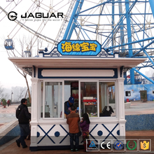 China munafacturer small prefab housing outdoor kiosk booth