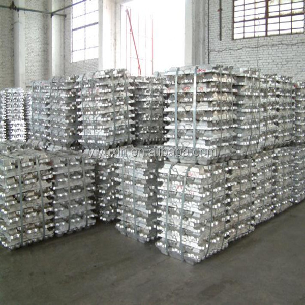 Aluminum Ingot 99.7 with Compared Price High purity 99.7% 99.99% Aluminum ingot