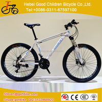 Top sales bicycle 20' 24' 26' 21 speed colorful mountain bike MTB bicycle with double disc brake tian jin
