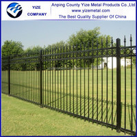 High quality Security wrought Iron Fence for garden/used wrought iron fencing for sale (factory sale )