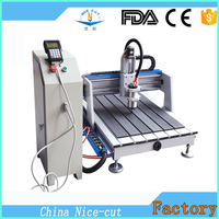 NC-A6090 used desktop cnc engraving machines / cnc wood carving machine
