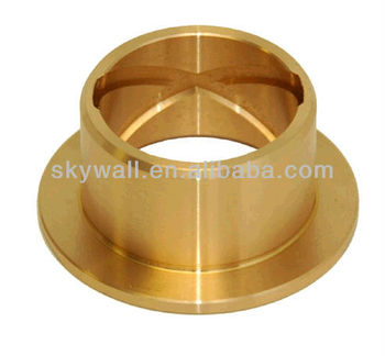 Precision brass bushing part with CNC turning