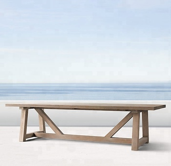 New arrival outdoor teak wood dining table