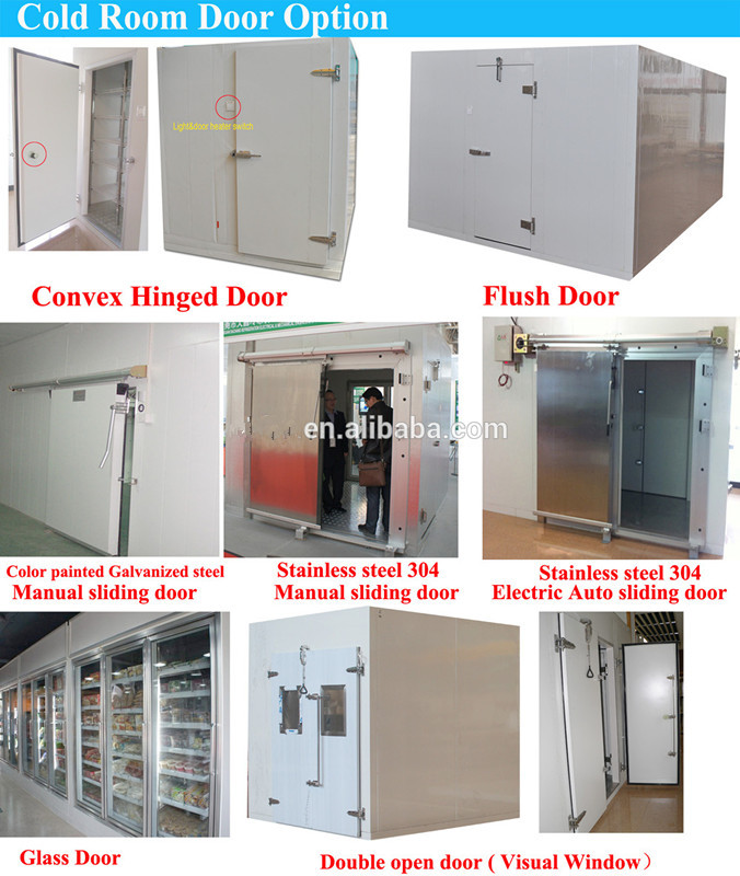 Meat Processing Freezing Room assembled by PU cam lock panels