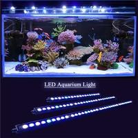 2017 Top quality 27x3w 81w 1000K white blue green uv full spectrum 33 inch dsuny led aquarium lights