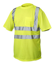 Reflective <strong>Safety</strong> T Shirt For Man Airport Traffic Roadway Security <strong>Safety</strong> Shirts With Short Sleeves Guard Work Wear