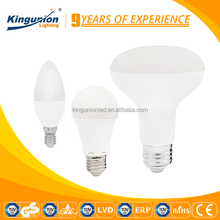 Kingunion 3W LED Candle lighting energy saving 5W 9W high lumen led bulb lights multicolor led bulb huizhuo lighting