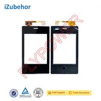 Digitizer Touch Screen Glass For Nokia Asha 503 touch screen Black Color