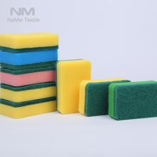 Nami Brand Recyclable Magic Eraser Sponge Colorful Water Absorbing Kitchen Sponge