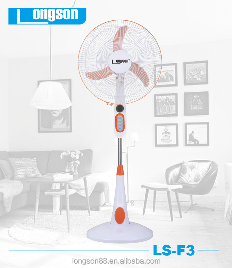 Summer cooling 18 inch floor installation standing fan strong power motor