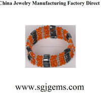 Top quality most popular custom magnetic bracelet
