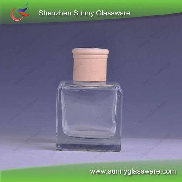 Glass Aroma Oil Bottles With Wood Lid Trade Assurance Factory
