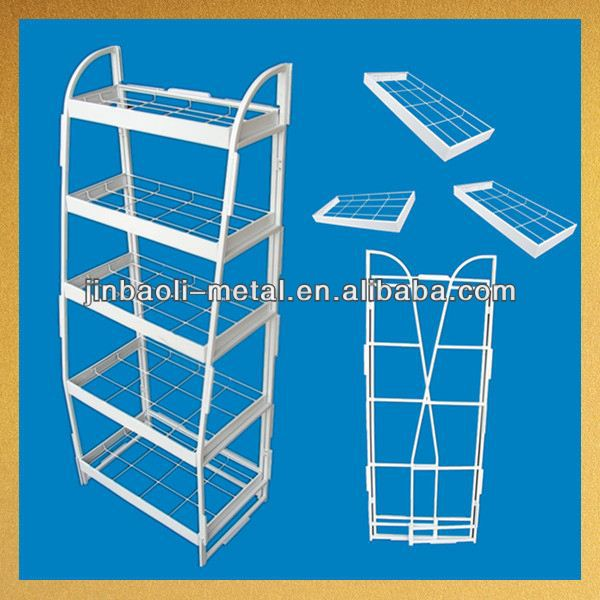 new arrival supermarket metal powder coated doll display stand
